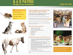 A&D Fayers Pet Supplies