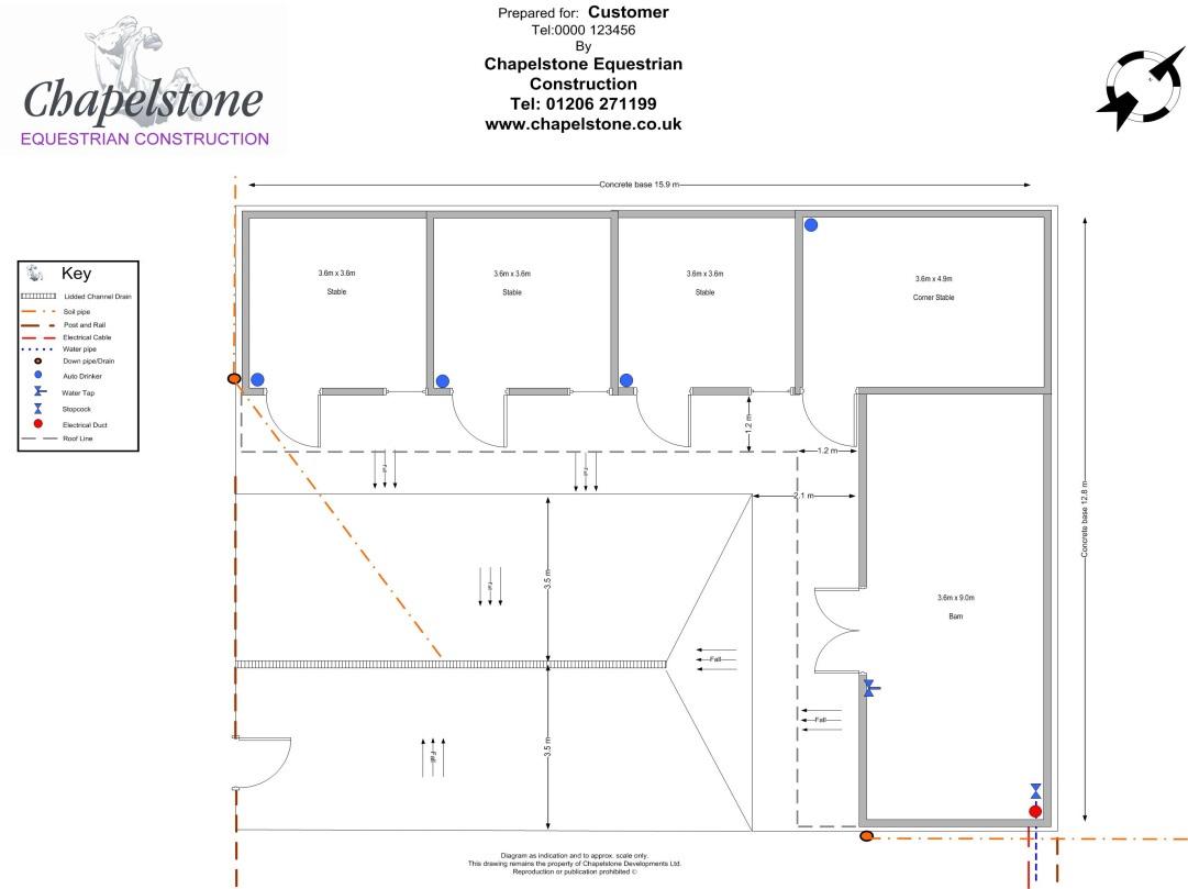 Stable Design Chapelstone Equestrian