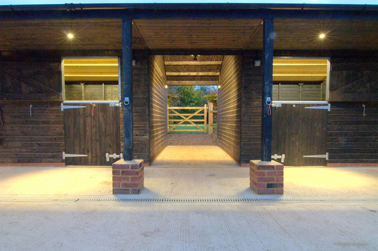 stable and yard