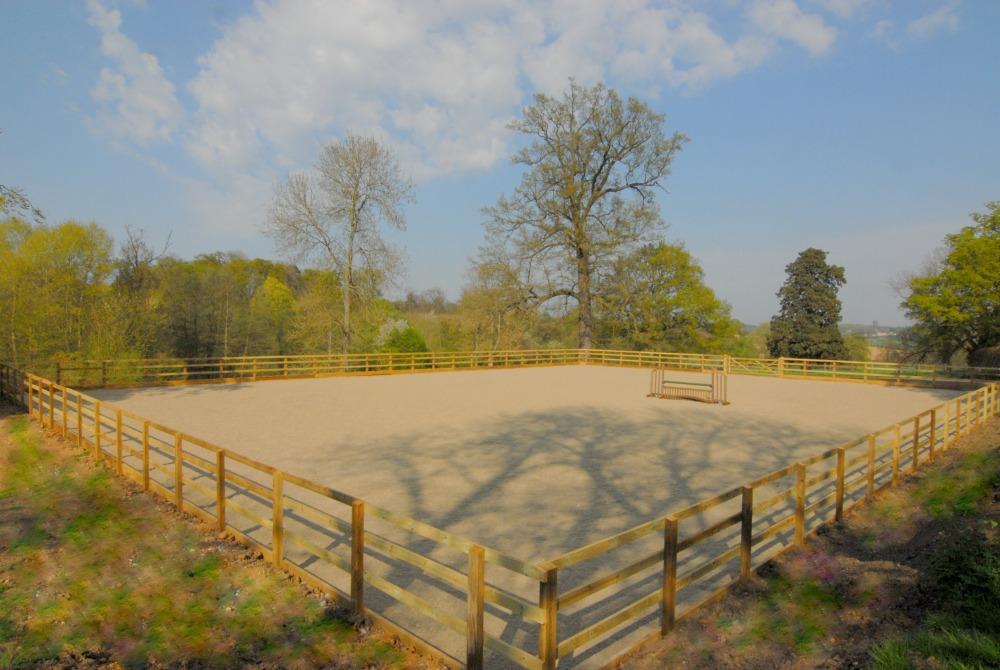 Horse riding arena construction UK